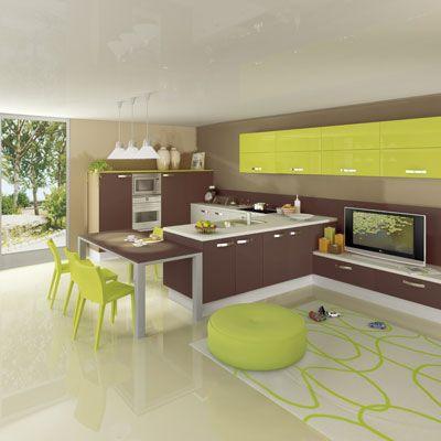 Mettez de la couleur dans votre cuisine : l\'offre des fabricants ...