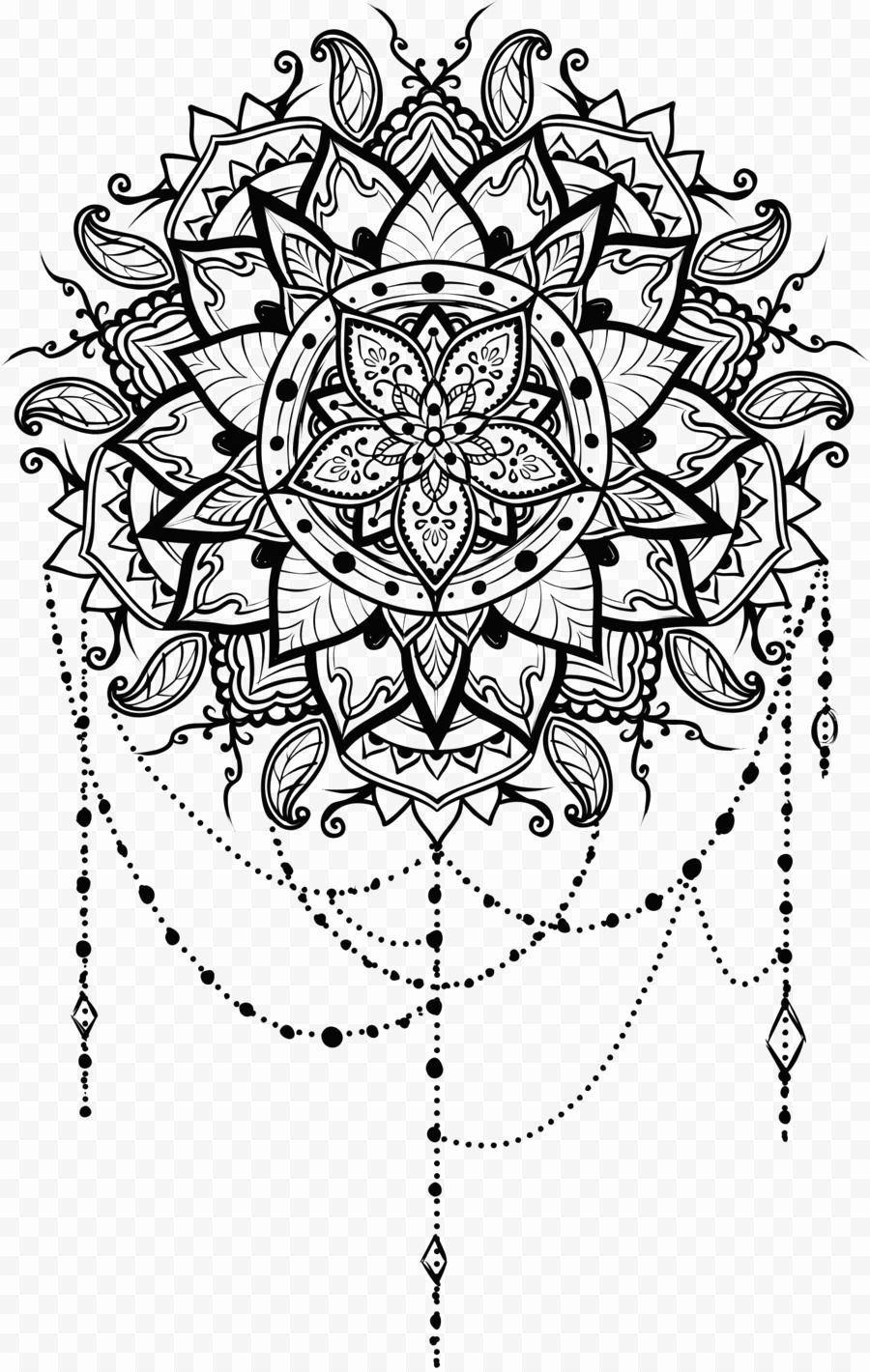 Coloring Book For Me And Mandala New Line Art Mandala Drawing Ornament Om Mandala Tattoo Design Mandala Coloring Books Geometric Tattoo