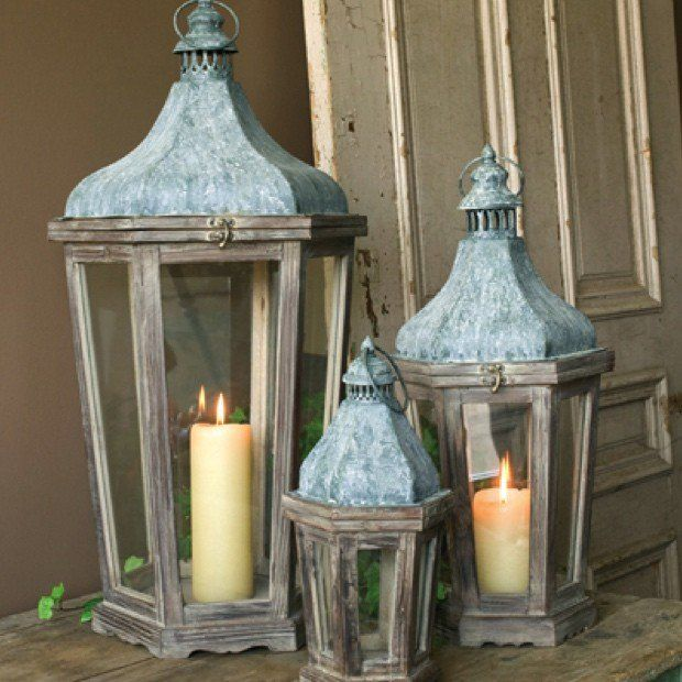 Timeless Lanterns Set Of 3 In 2020 Rustic Outdoor Decor