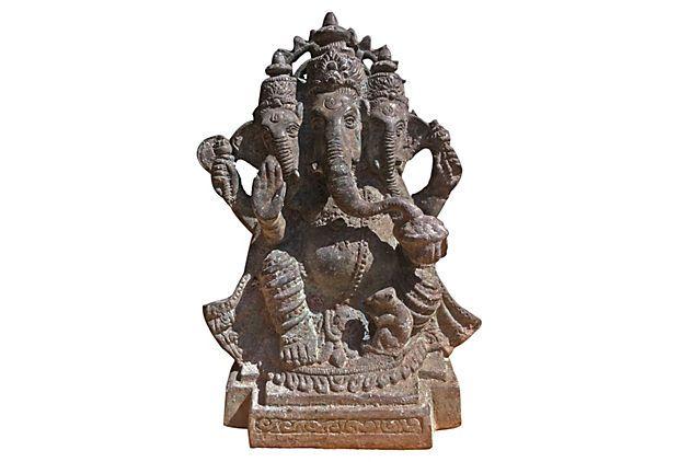 Ganesha With Three Heads