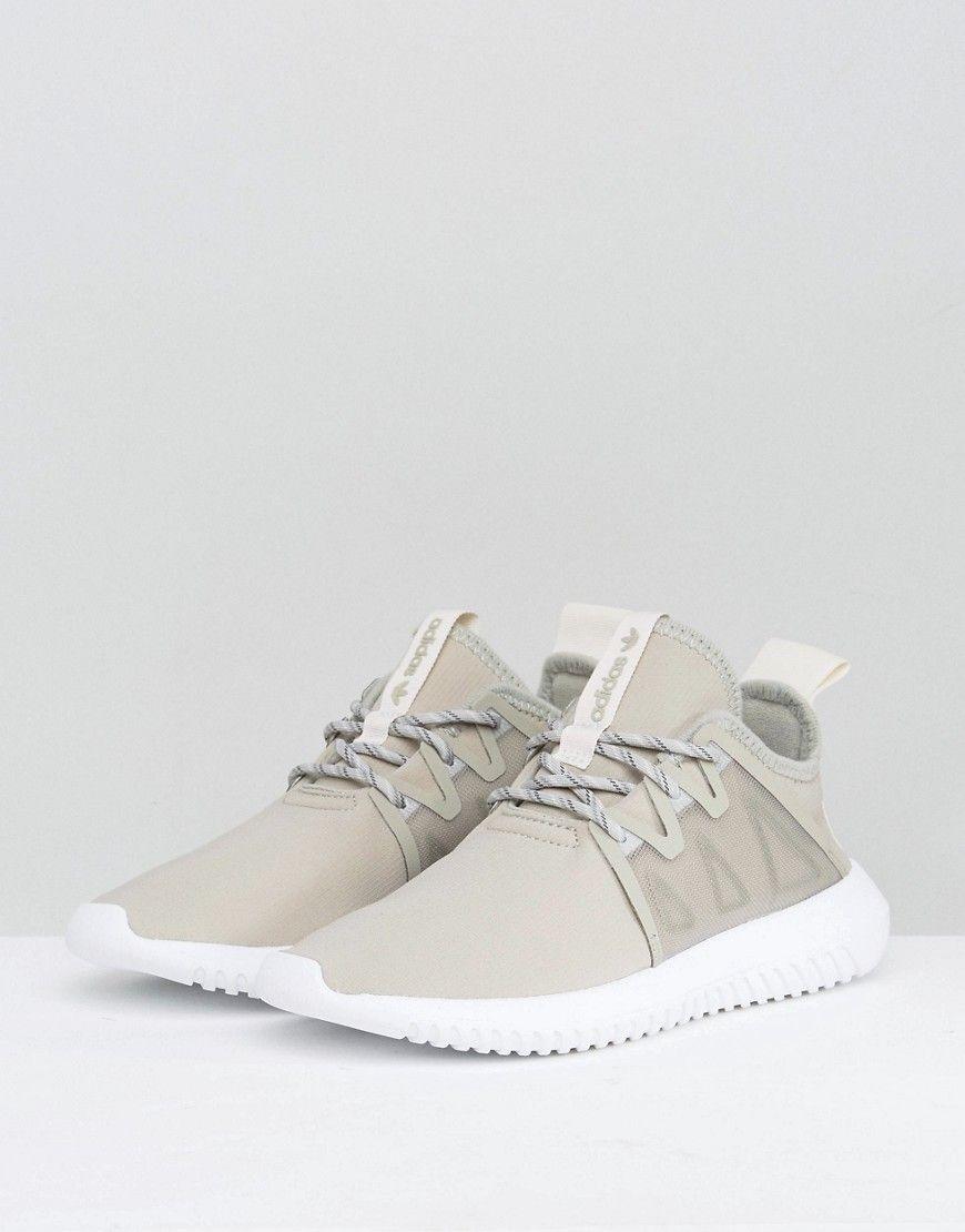 3431b4f4c1b2 adidas Originals Tubular Viral Sneakers In Taupe - Beige