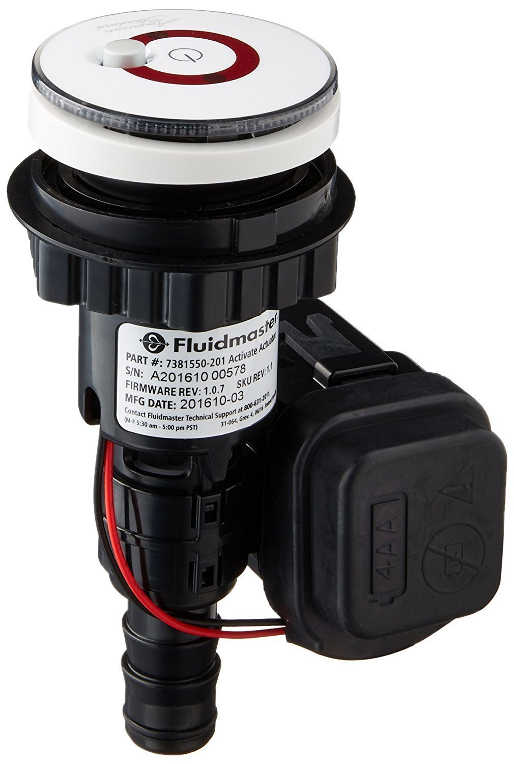 American Standard 7381683 401 0070a Activate Touchless Toilet And Tank American Standard Actuator Battery Holder