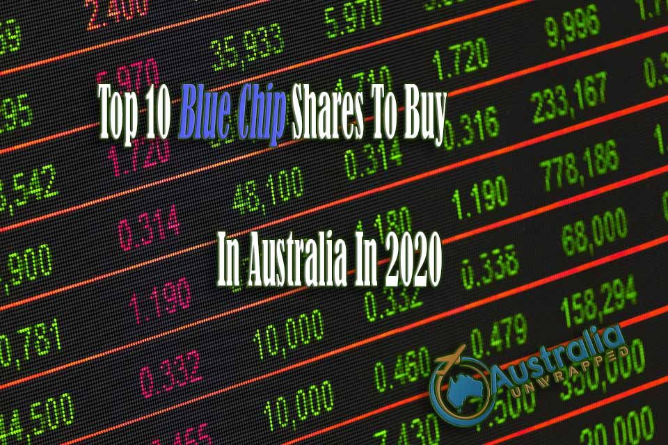 Top 10 Blue Chip Shares To Buy In Australia In 2020 in
