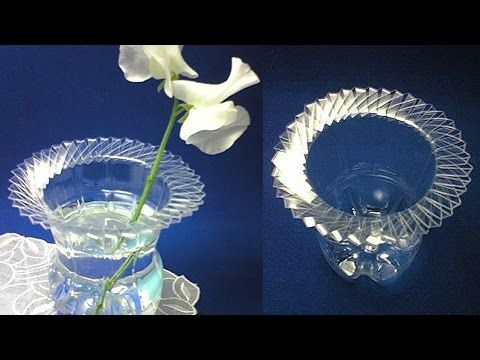 How To Make Flower Vase From Plastic Bottle Best Out Of Waste