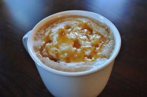 Starbucks caramel crème brûlée latte recipe 1 cup milk 2 tablespons sugar 1 teaspoon vanilla 2 teaspoon carmel topping Whipped topping -Heat milk and carmel -combine all ingredients