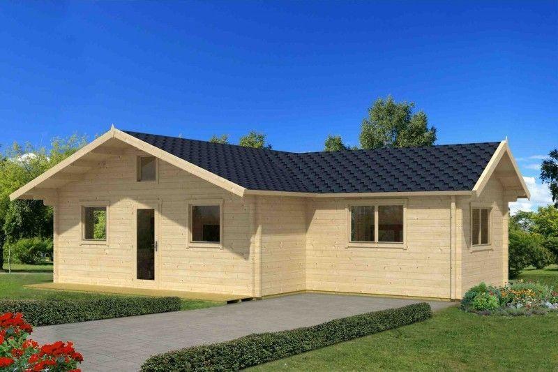 wochenendhaus 70mm columbia iso 6x6,6m gartenhaus holzhaus, Hause und garten