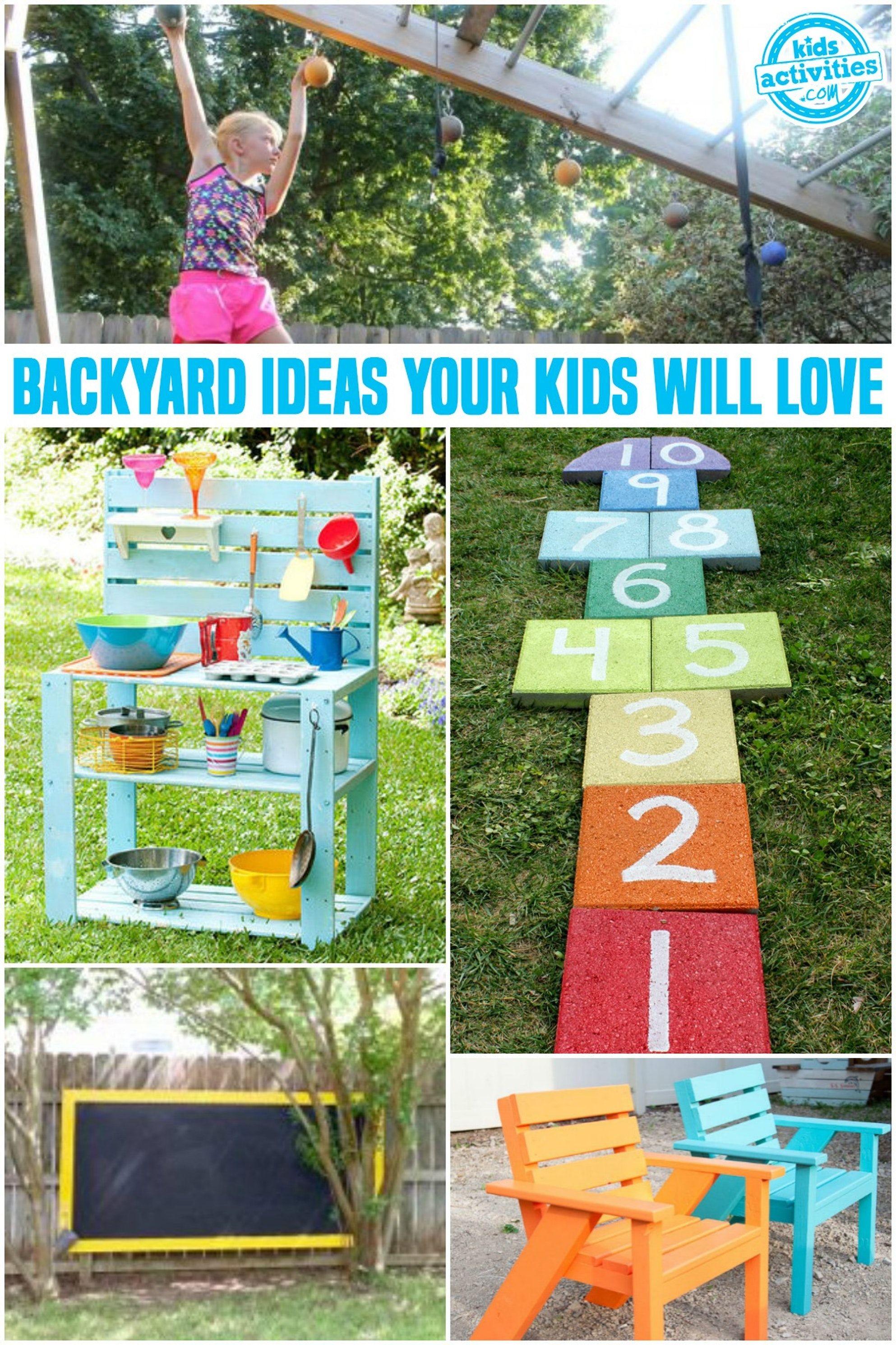 diy creative ideas for your backyard kids activities yard rh pinterest com