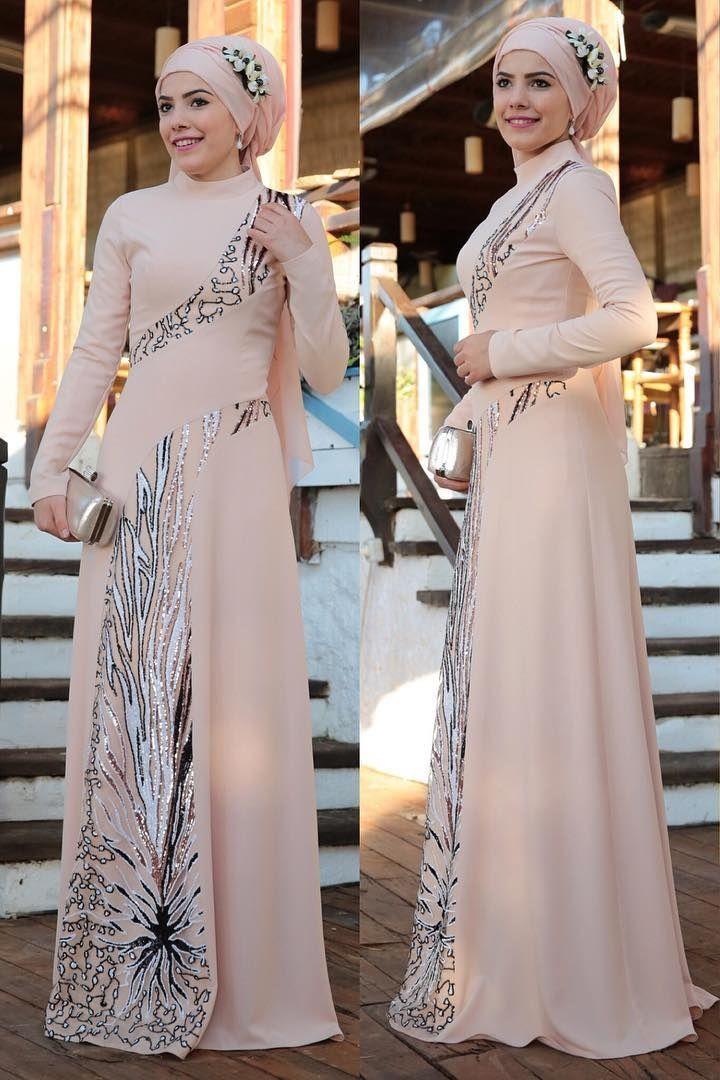 983f7b98443 Modest evening wear Islamic Fashion