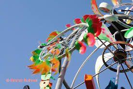 Metarmorphose Fahrrad Wind Art Erweiterungs Wind Skulptur
