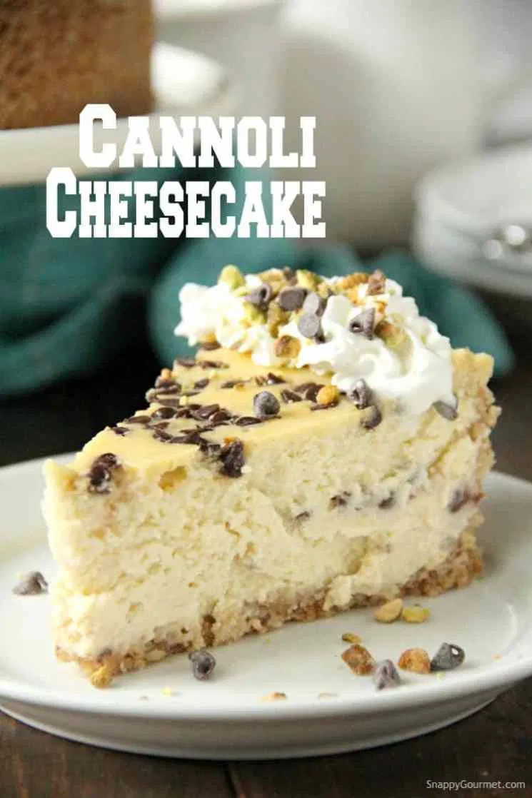 Photo of Cannoli Cheesecake (EASY Italian dessert) – Snappy Gourmet