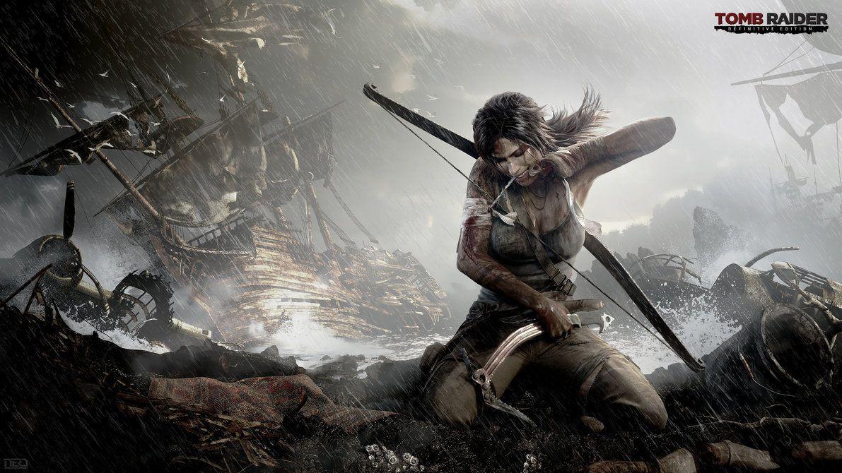 Tomb Raider Definitive Edition 4k By Neo Musume Tomb Raider Wallpaper Lara Croft Wallpaper New Tomb Raider