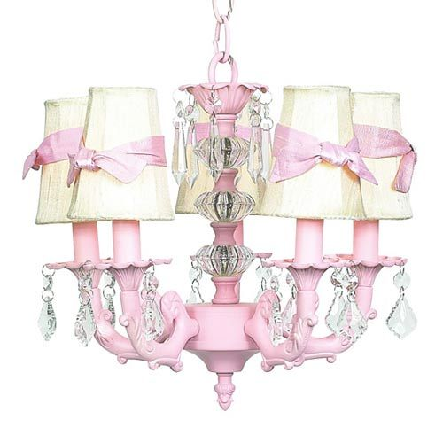 Jubilee collection stacked glass ball pink five light mini jubilee collection stacked glass ball pink five light mini chandelier with plain ivory with sash chandelier shades mozeypictures Gallery