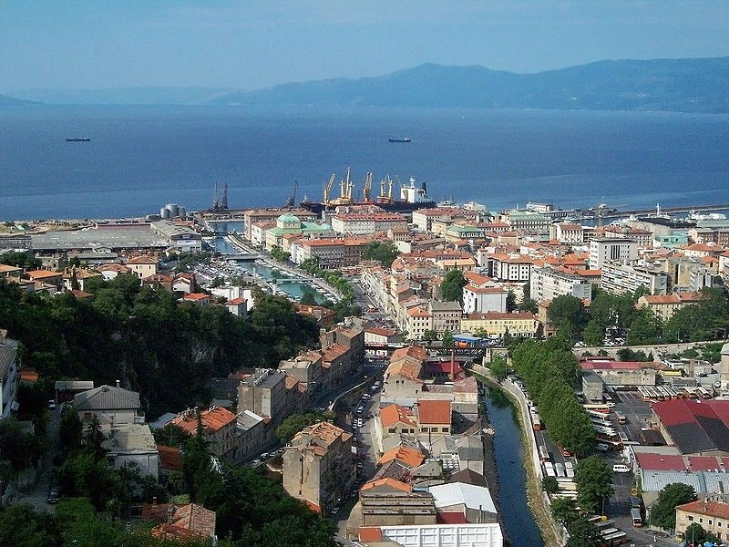File Rijeka View 2 Jpg Italy Holiday Destinations Rijeka Croatia