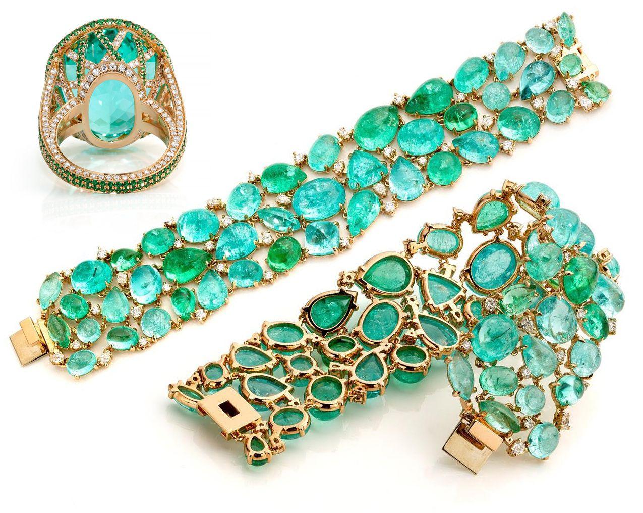 Collectible Gemstone Precious Paraiba Tourmaline All