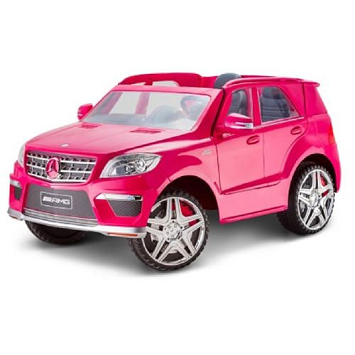 your young sport suv fan can roll stylishly in the avigo mercedes ml63 12 volt powered ride on magenta with tons of auth sport suv toy cars for kids toy car avigo mercedes ml63 12 volt