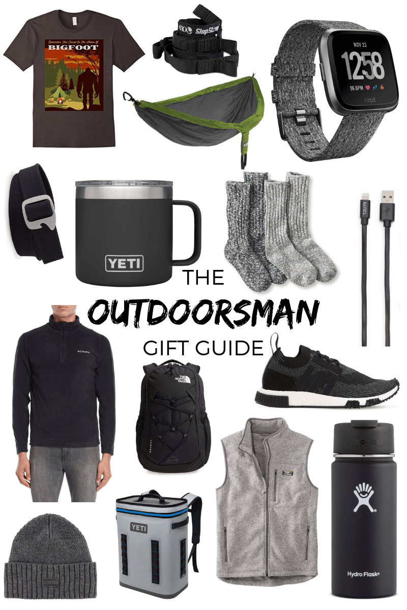Holiday Gift Guide Guy Edition Gift Guide Outdoorsman Gifts Outdoorsman Gift Guide