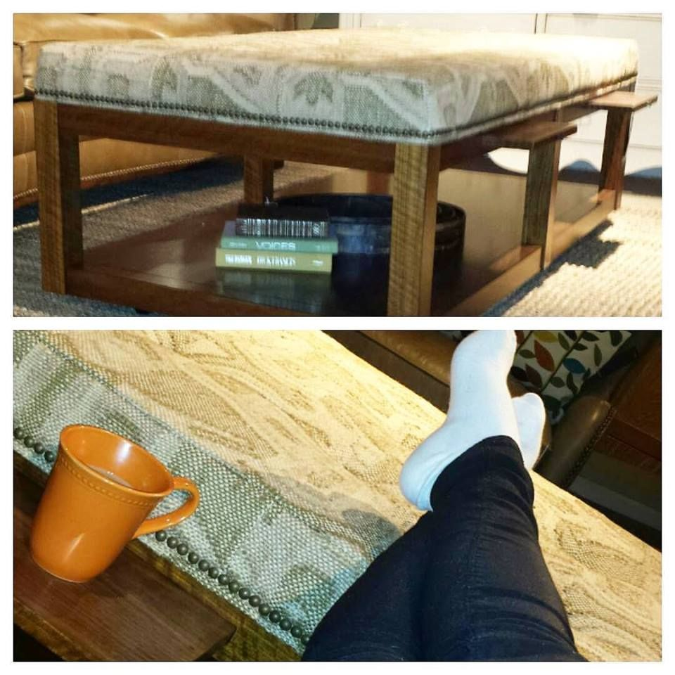 Pull Up An Ottoman And Put Your Feet Up This Weekend This Ottoman