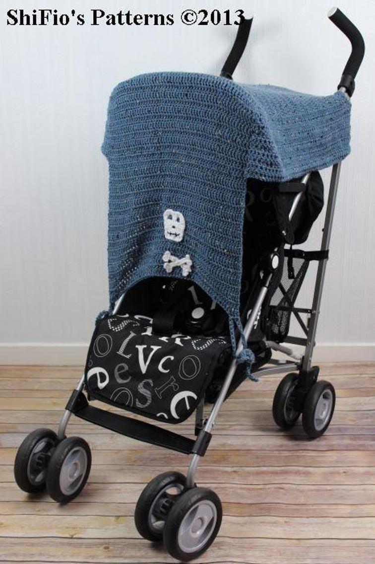 Stroller Sunshade Crochet Pattern 259 Bluprint in 2020