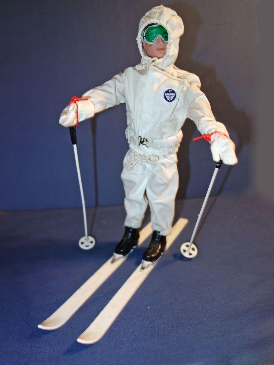 GI Joe Ski Patrol 1960's Gi joe, Skiing, Vintage ski