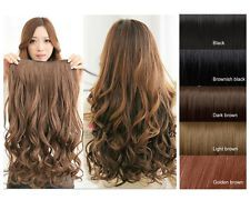 How to sell synthetic hair extensions hair extensions human hot one piece5 clipsclip on synthetic long wavy human hair extensions pmusecretfo Choice Image