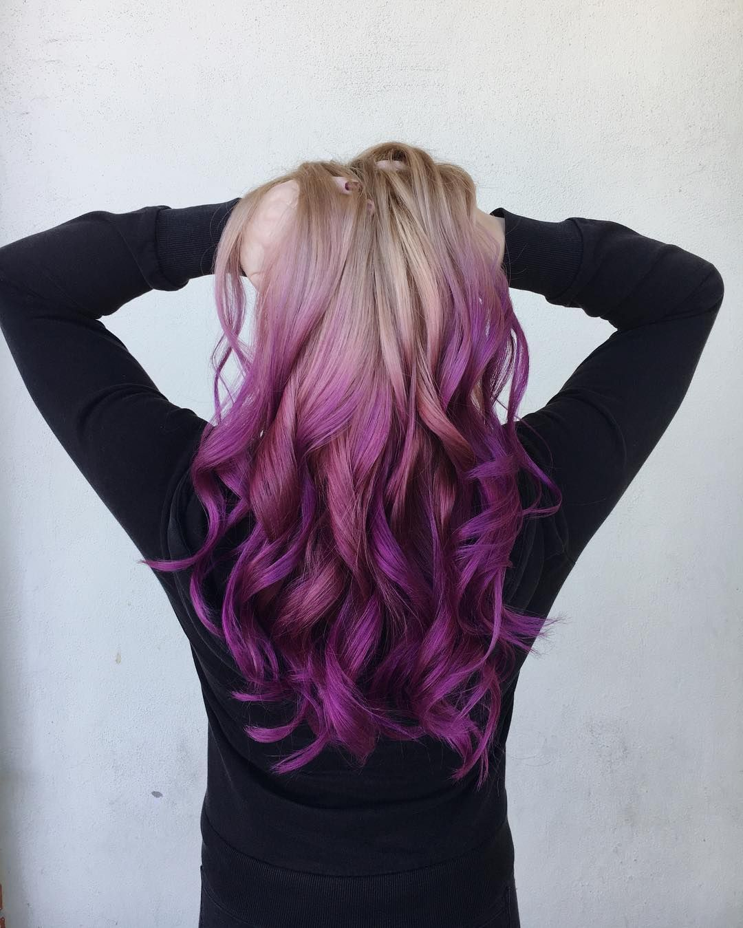 nice 45 Cool Purple Ombre Hair Ideas -- Trendy Contemporary Styling