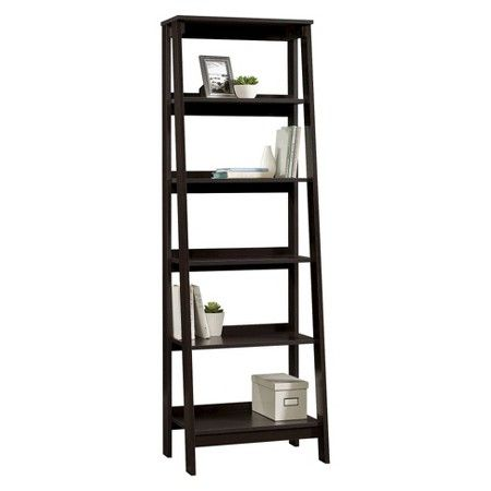 5 Shelf Trestle Bookcase Espresso Room Essentials Target