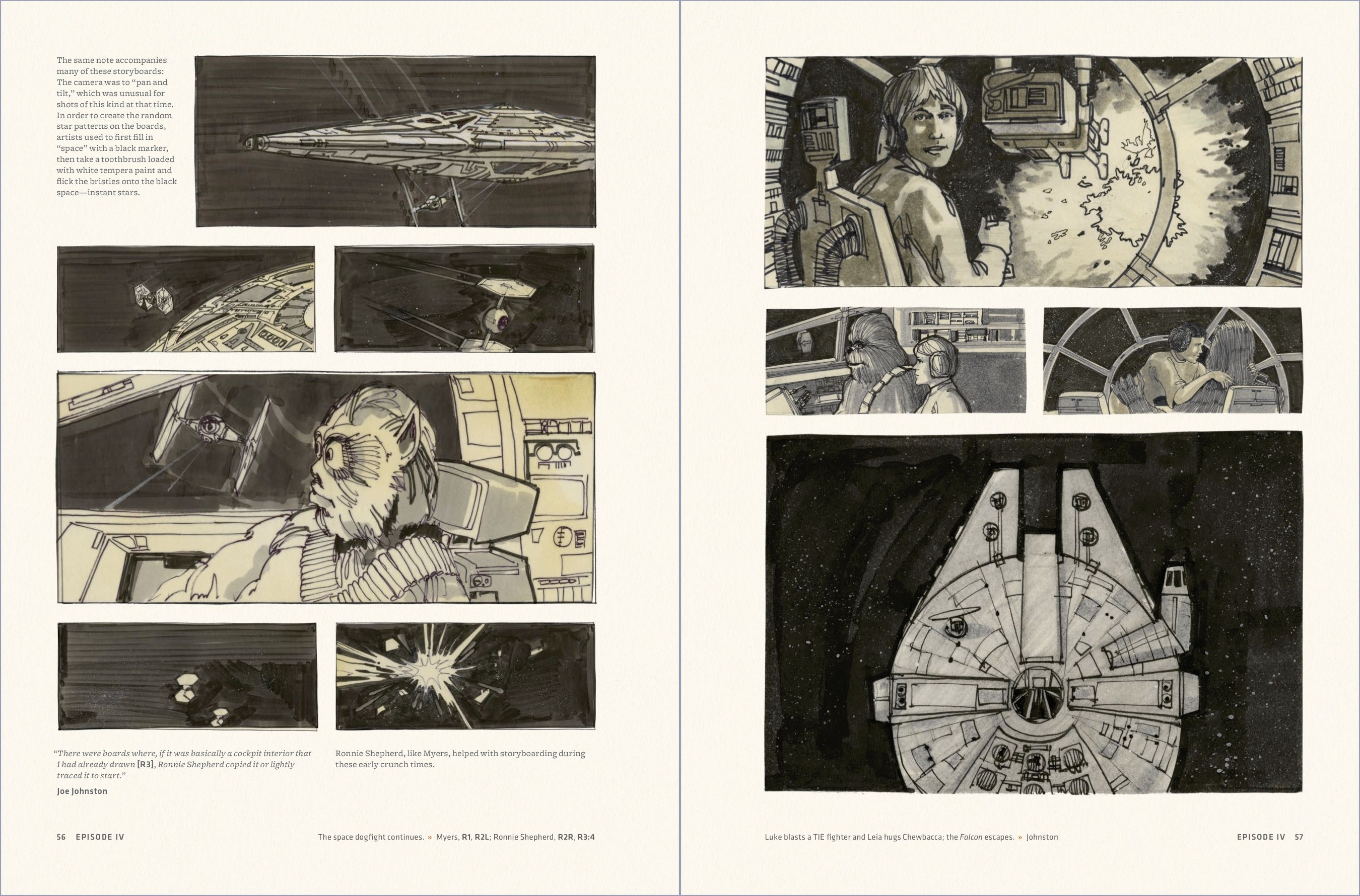 Star Wars Storyboards Google Search Star Wars Episodes Storyboard Star Wars Episode Iv