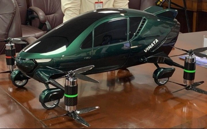 India to launch Asia's first hybrid flying car