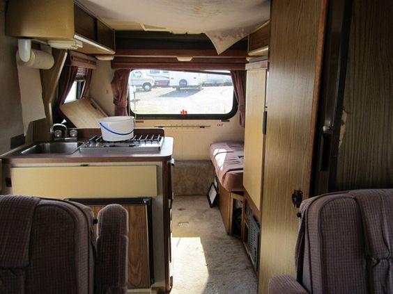 Winnebago Lesharo Turbo Diesel Engine Compartment
