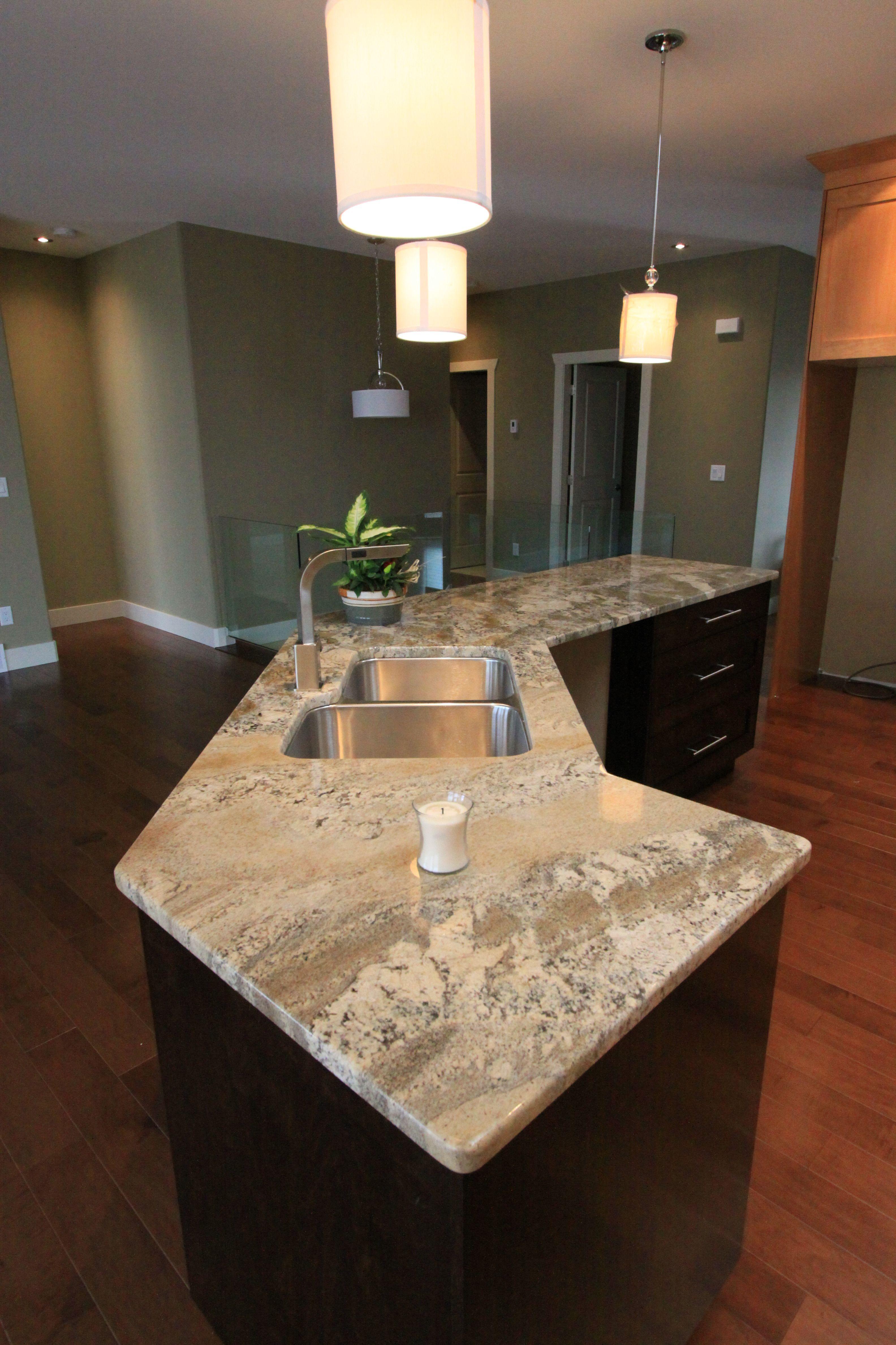 Best Beautiful Granite Counter Buckskin From Brazil Kitchen 400 x 300