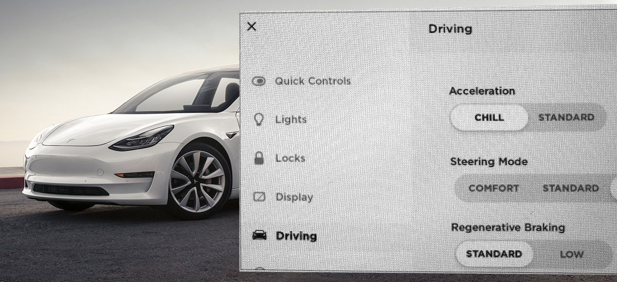 Chill Mode' comes to Tesla Model 3 with the latest software