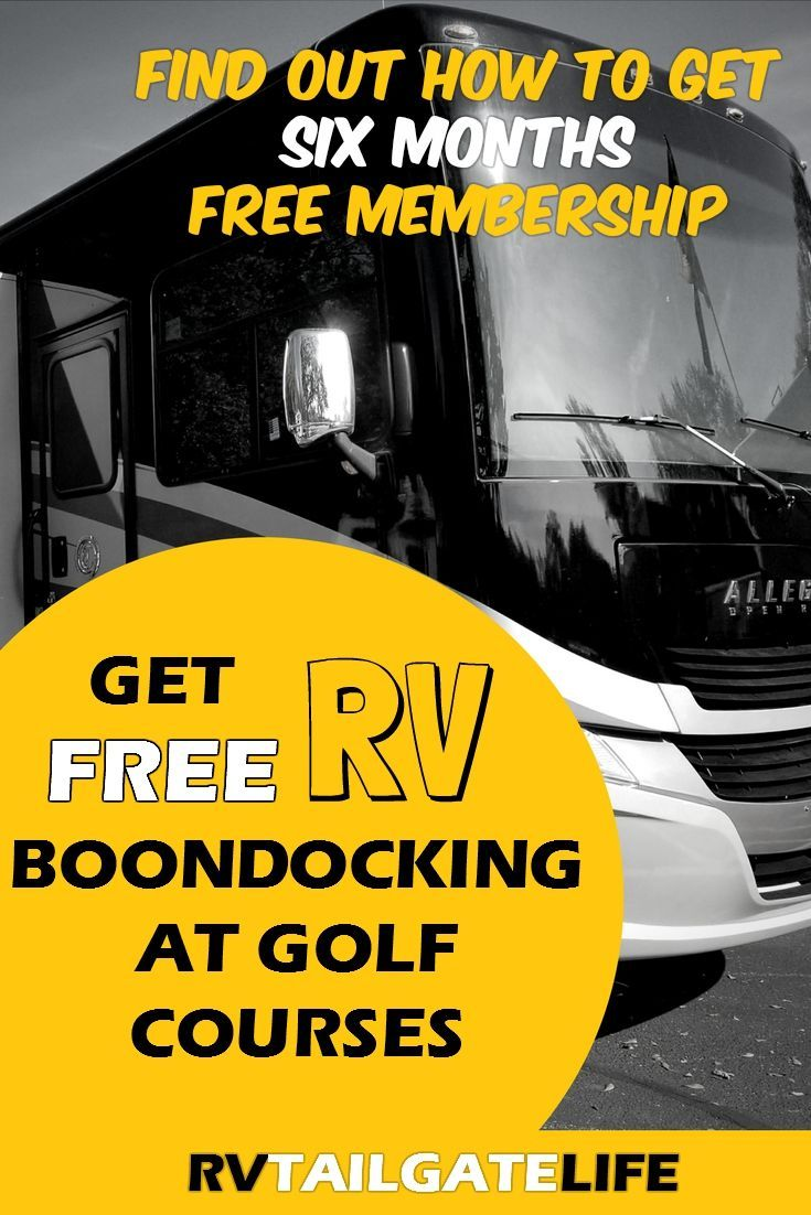 Rv Golf Club Lets You Park Your Rv At Golf Courses Van