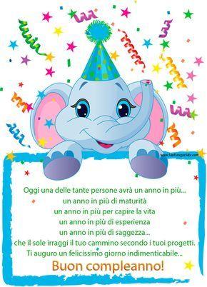 Auguri Di Compleanno Un Anno Video Auguri Compleanno Bambini