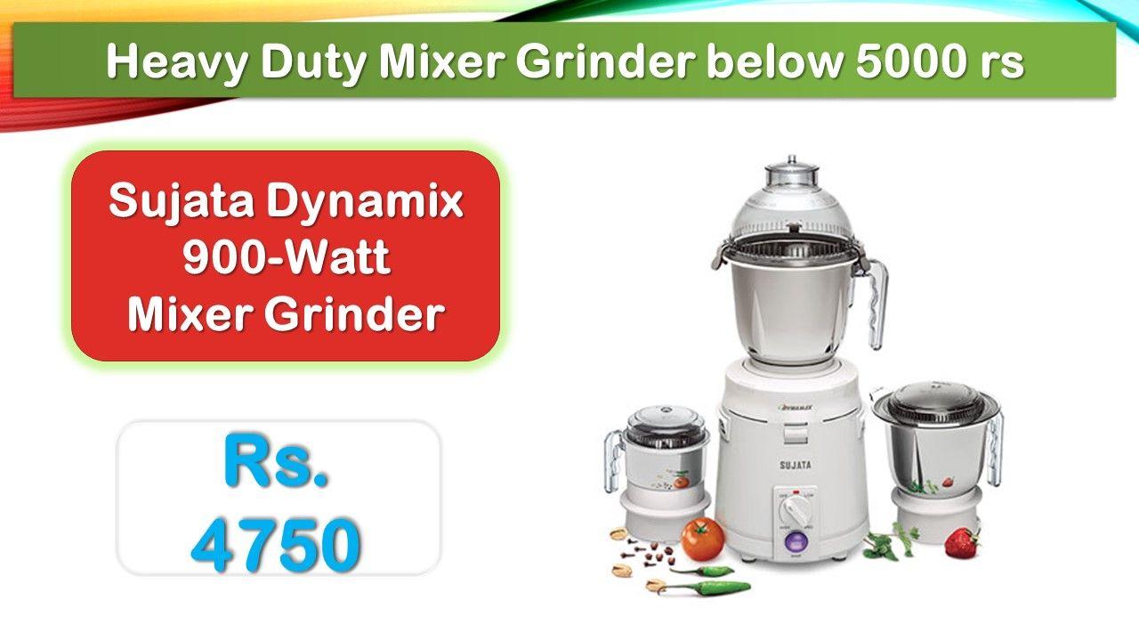 5 Best Mixer Grinder Juicer Under 5000 Rupees In India Market Mixer Grinder Juicer