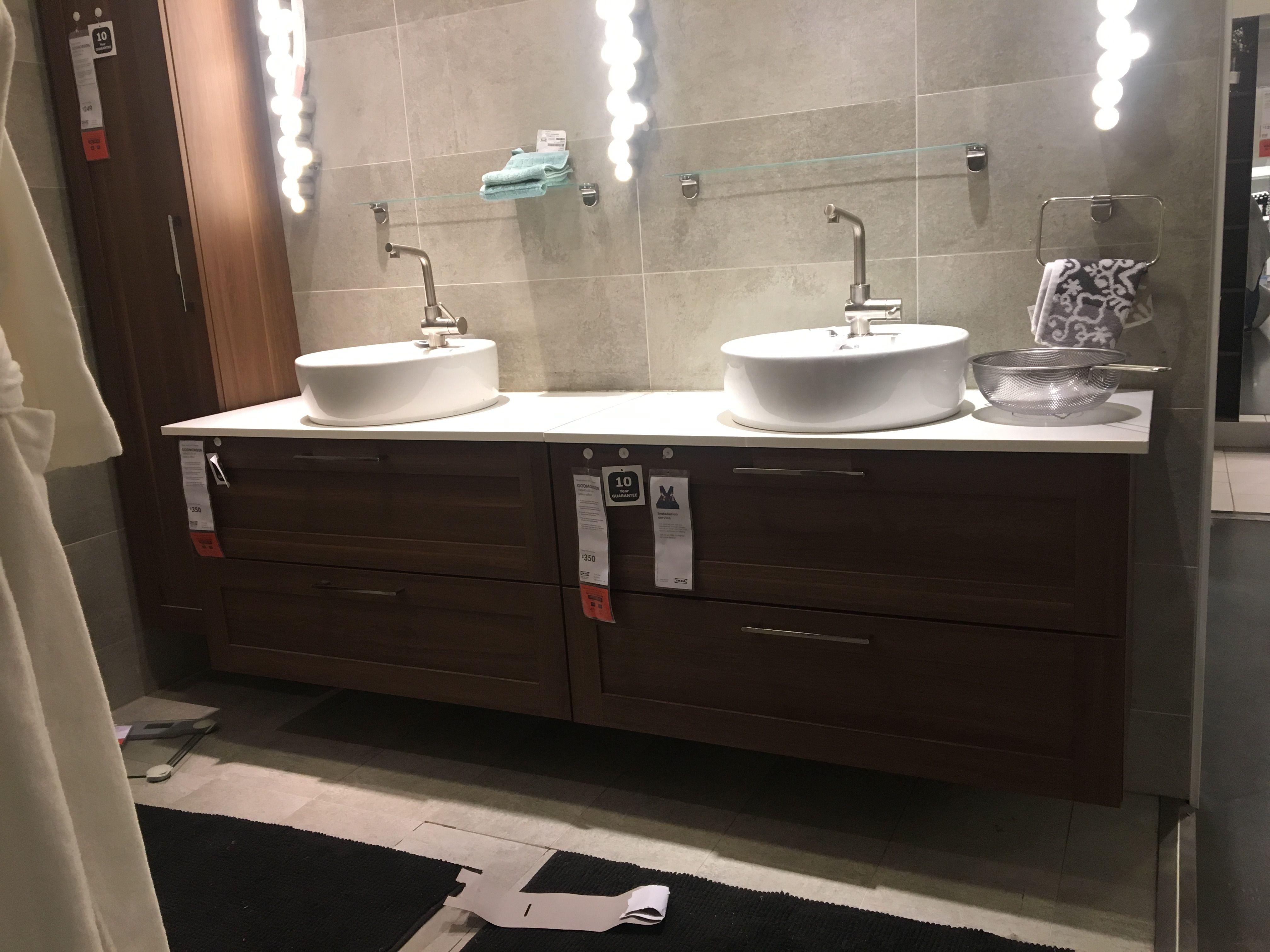 Ikea Double Vanity