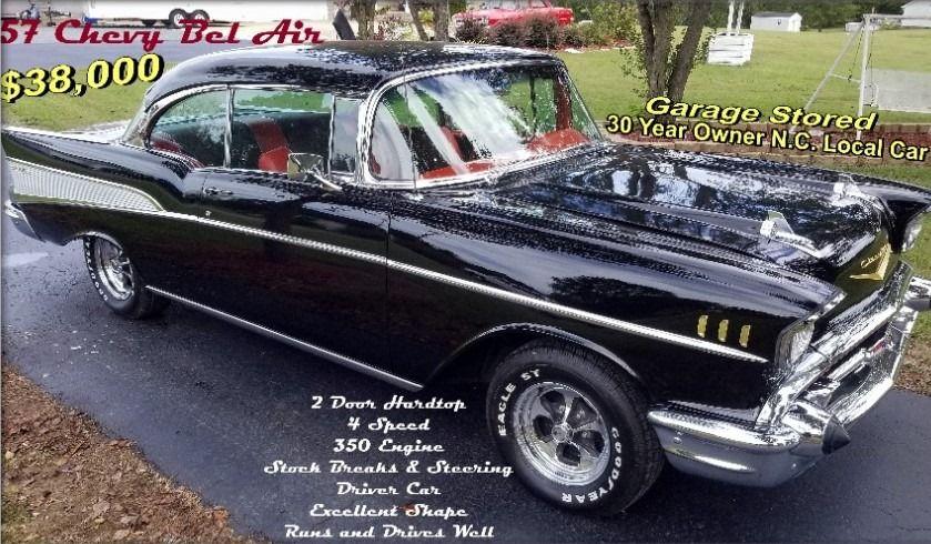 1957 chevrolet bel air sport coupe 2 door hardtop
