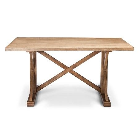Harvester 62 Rectangle Dining Table   Acorn   Beekman 1802 FarmHouse