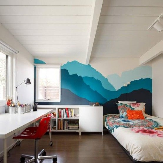 31 Cute Mid Century Modern Kids Rooms Decor Ideas Digsdigs Mid Century Bedroom Design Modern Kids Room Mid Century Modern Bedroom Design