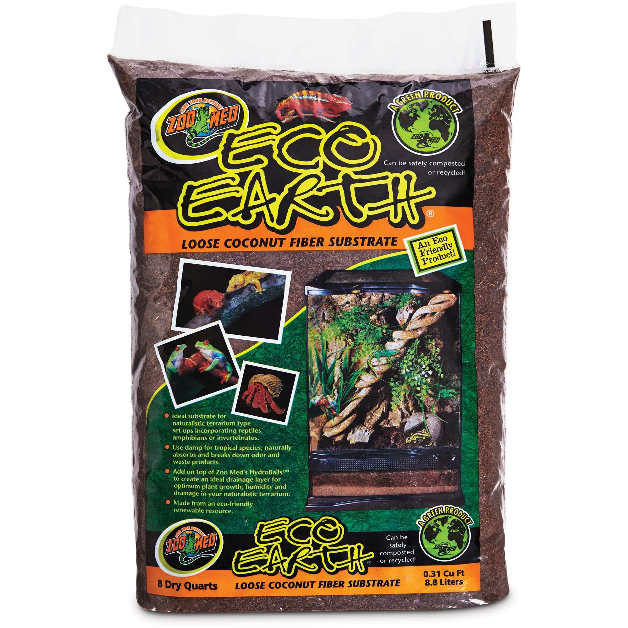 Zoo Med Eco Earth Loose Coconut Fiber Substrate Coconut