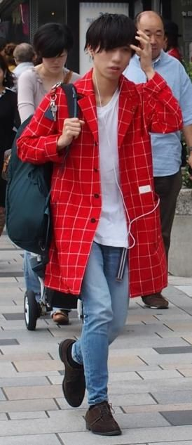 autumn coat japanese men's clothing and casual fashion - fashion in japan