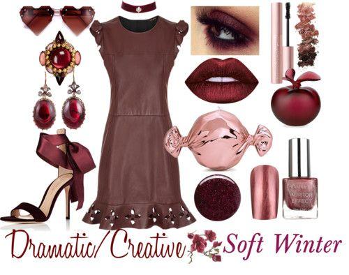 Dramatic Creative Soft Winter Style Personality Pinterest Winter Deep Winter And Dark Winter