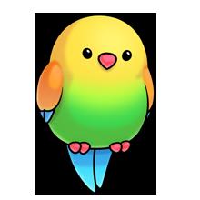 Parrot Com Imagens Desenhos De Animais Fofos Kawaii Desenhos