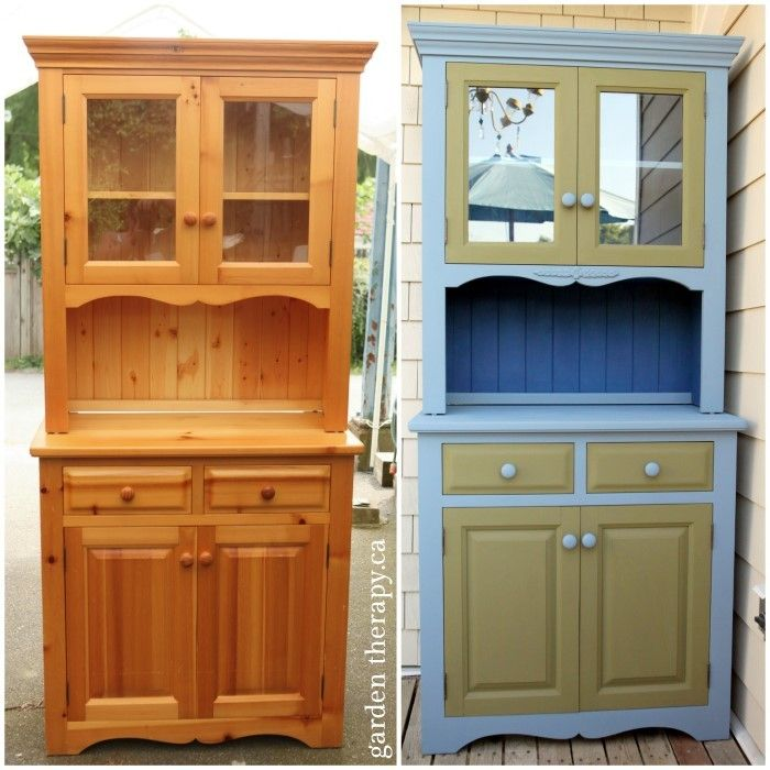 BBQ Cabinet Before And After   This Cabinet Was In Pretty Good Shape, But I