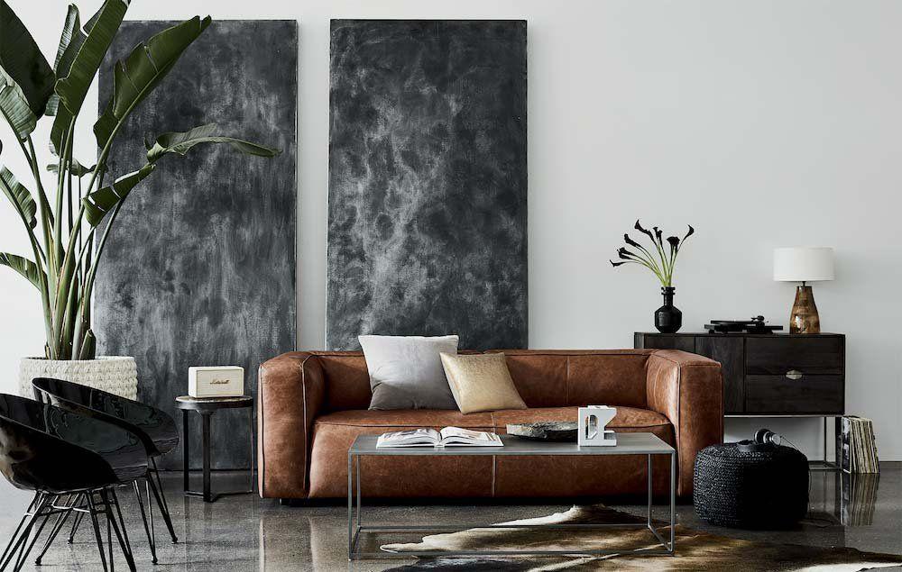 modern home decor ideas  cb2  living room interior