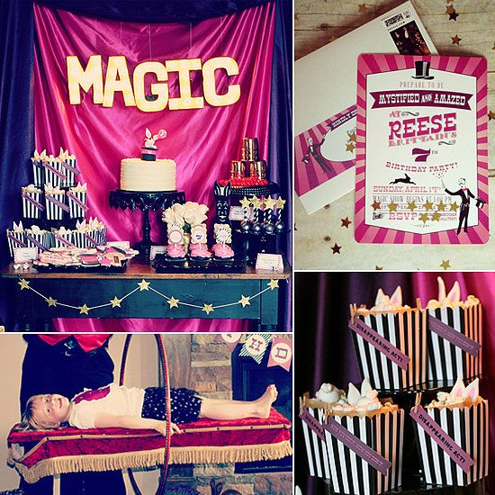 Best 25 magic theme ideas on pinterest magic party for 17th birthday decoration ideas