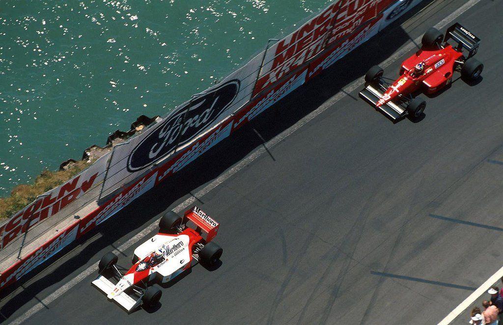 Monaco 1988 Alain prost, Michele alboreto, Ferrari f1