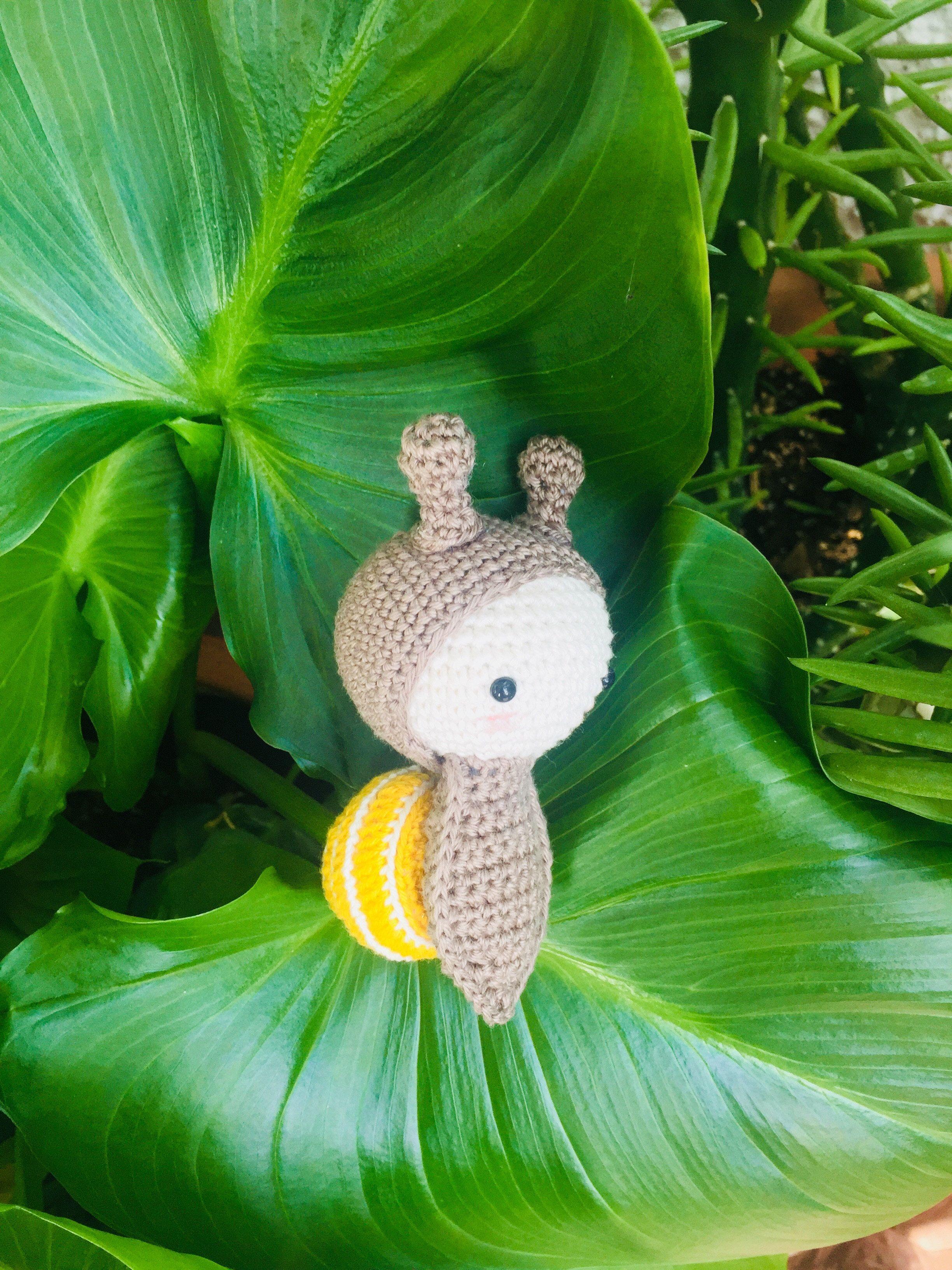 amigurumi snail made by Kim / pattern by lalylala | Amigurumi ...