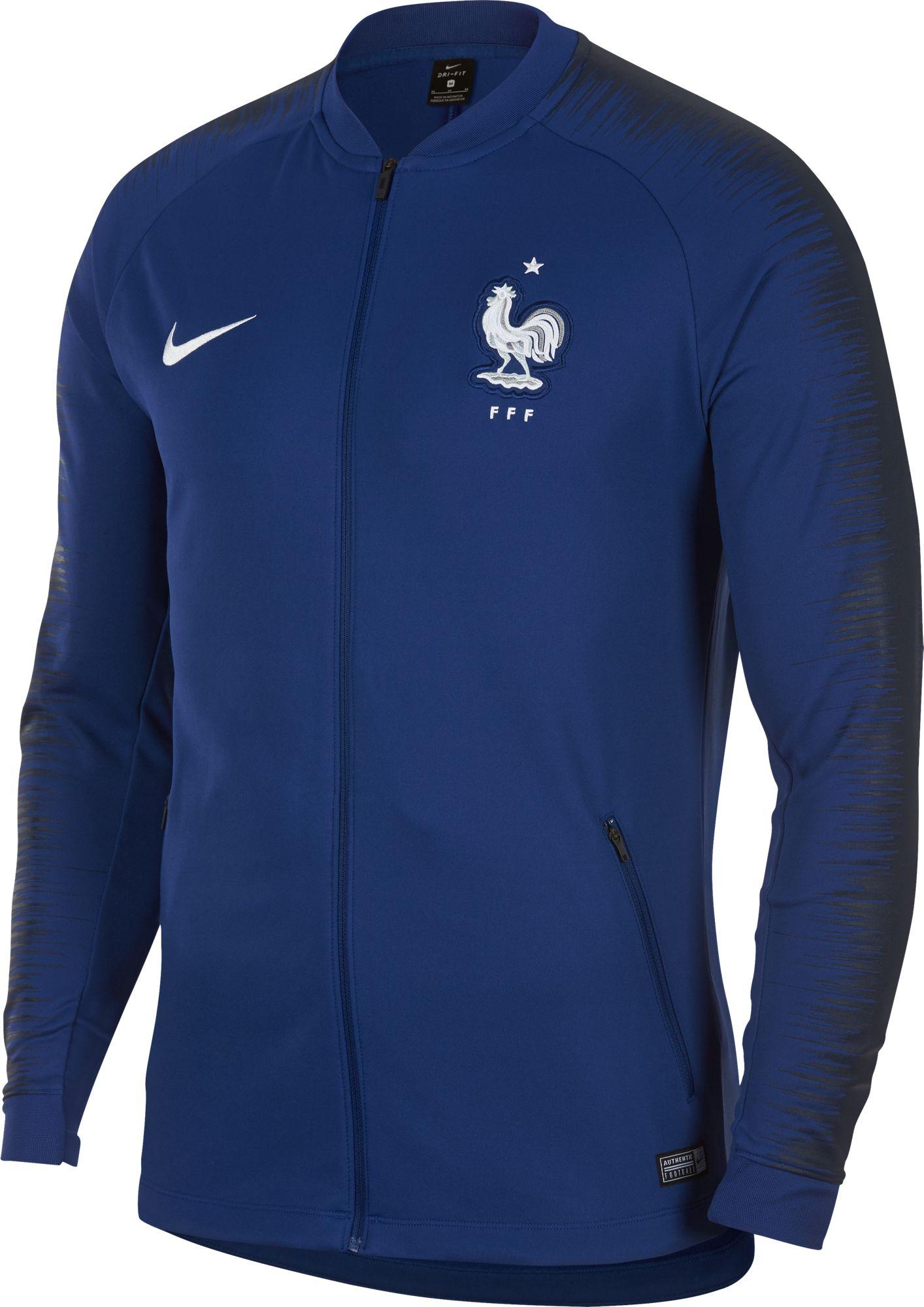 on sale 2ff99 411f3 Nike Men's 2018 Fifa World Cup France Anthem Full-Zip Jacket ...