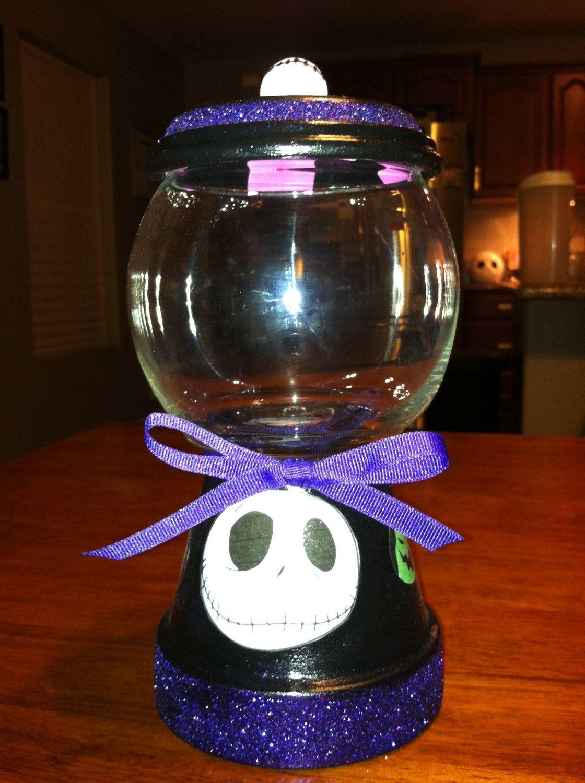 Nightmare Before Christmas Candy Jar   Nightmare before christmas, Christmas jars, Nightmare ...