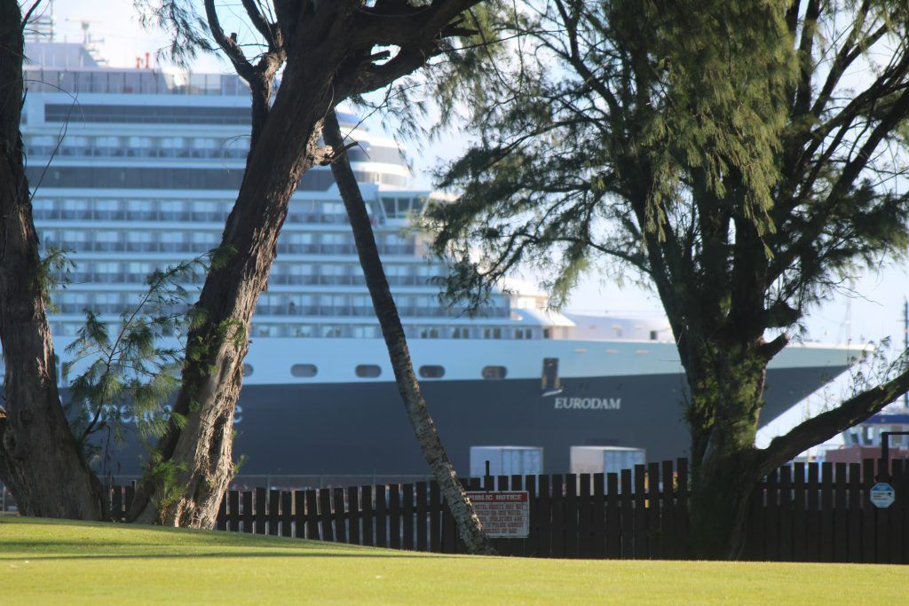Eurodam Cruise Ship Diverts to Kahului Harbor Maui Now